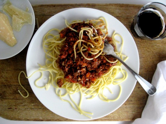 how to make perfect spaghetti bolognese