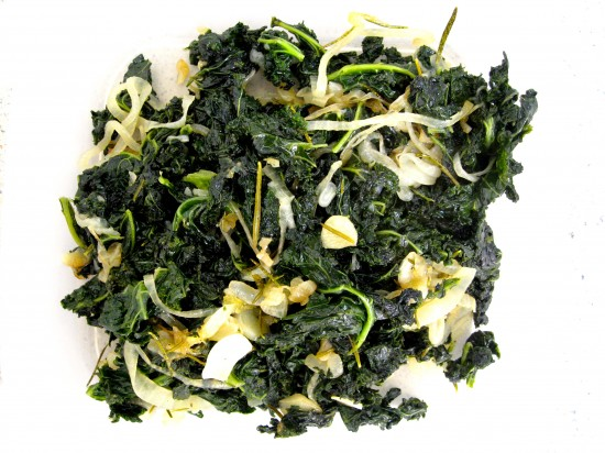 Slow cooked Kale